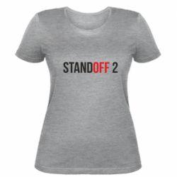 Женская футболка Standoff 2 logo