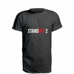 Удлиненная футболка Standoff 2 logo