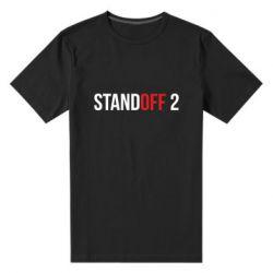 Мужская стрейчевая футболка Standoff 2 logo