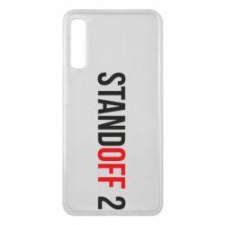 Чехол для Samsung A7 2018 Standoff 2 logo