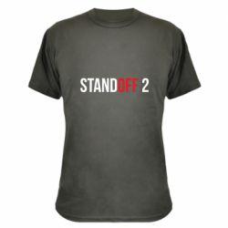 Камуфляжная футболка Standoff 2 logo