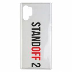 Чехол для Samsung Note 10 Plus Standoff 2 logo