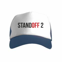 Детская кепка-тракер Standoff 2 logo