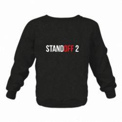 Детский реглан (свитшот) Standoff 2 logo