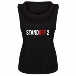 Женская майка Standoff 2 logo