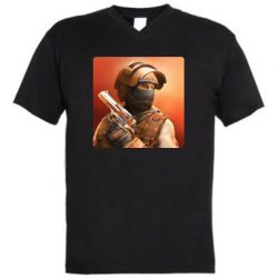 Чоловіча футболка з V-подібним вирізом Standoff 2