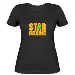 Женская футболка Star Boxing - FatLine