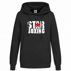 Женская толстовка Star Boxing - FatLine