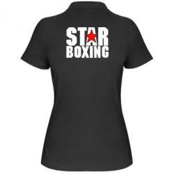 Женская футболка поло Star Boxing - FatLine