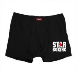 Мужские трусы Star Boxing - FatLine