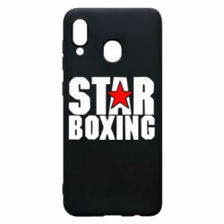 Чехол для Samsung A30 Star Boxing