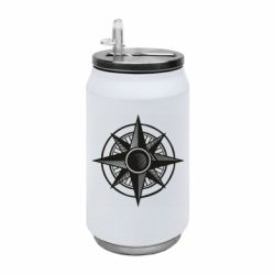 Термобанка 350ml Star Compass