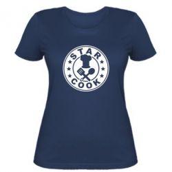 Женская футболка Star Cook - FatLine