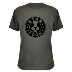 Камуфляжная футболка Star Cook - FatLine