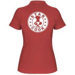 Женская футболка поло Star Cook - FatLine