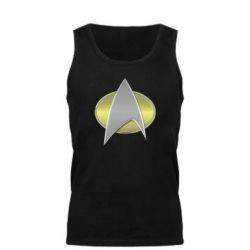 Мужская майка Star Trek Gold Logo