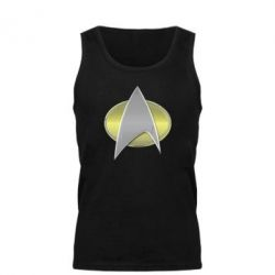 Мужская майка Star Trek Gold Logo - FatLine