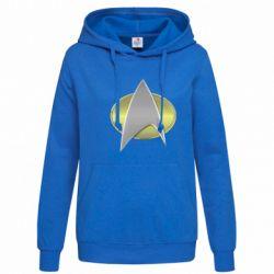 Толстовка жіноча Star Trek Gold Logo - FatLine