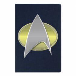 Блокнот А5 Star Trek Gold Logo - FatLine