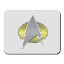 Коврик для мыши Star Trek Gold Logo - FatLine