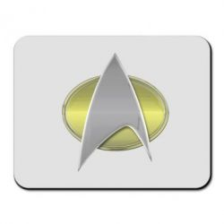 Коврик для мыши Star Trek Gold Logo