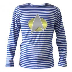 Тельняшка с длинным рукавом Star Trek Gold Logo