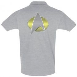 Футболка Поло Star Trek Gold Logo - FatLine