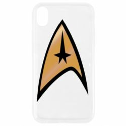 Чехол для iPhone XR Star Trek Logo