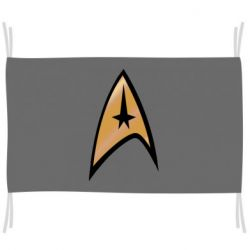 Флаг Star Trek Logo