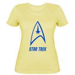 Женская футболка Star Trek - FatLine