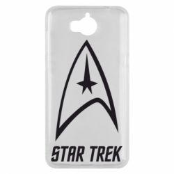 Чехол для Huawei Y5 2017 Star Trek - FatLine