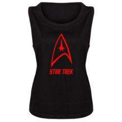 Женская майка Star Trek - FatLine