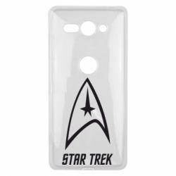 Чехол для Sony Xperia XZ2 Compact Star Trek - FatLine