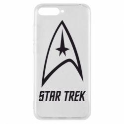 Чехол для Huawei Y6 2018 Star Trek - FatLine