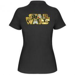 Женская футболка поло Star Wars 3D - FatLine