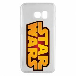 Чохол для Samsung S6 EDGE Star Wars Gold Logo
