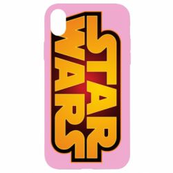 Чохол для iPhone XR Star Wars Gold Logo
