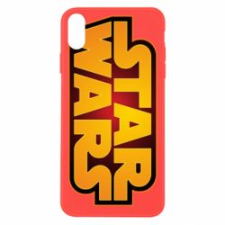 Чохол для iPhone Xs Max Star Wars Gold Logo