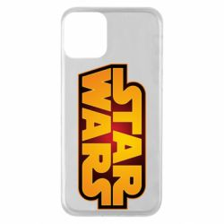 Чохол для iPhone 11 Star Wars Gold Logo