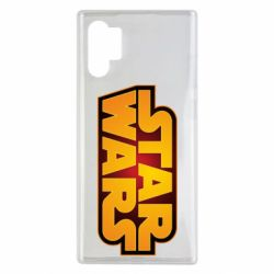 Чохол для Samsung Note 10 Plus Star Wars Gold Logo