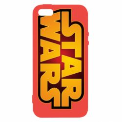 Чохол для iphone 5/5S/SE Star Wars Gold Logo