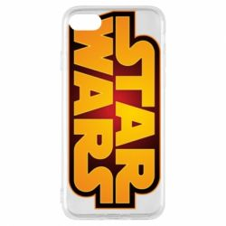 Чохол для iPhone 7 Star Wars Gold Logo