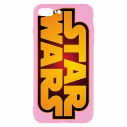 Чохол для iPhone 8 Plus Star Wars Gold Logo