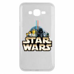 Чохол для Samsung J7 2015 Star Wars Lego
