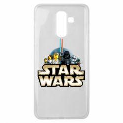 Чохол для Samsung J8 2018 Star Wars Lego