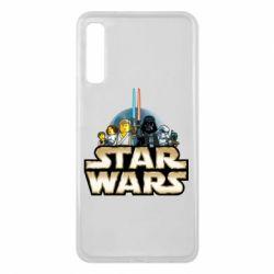 Чохол для Samsung A7 2018 Star Wars Lego