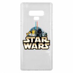 Чохол для Samsung Note 9 Star Wars Lego