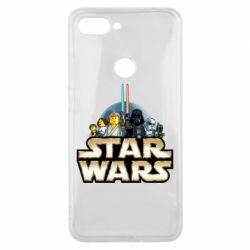 Чохол для Xiaomi Mi8 Lite Star Wars Lego