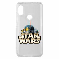 Чохол для Xiaomi Redmi Note Pro 6 Star Wars Lego