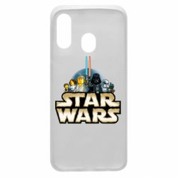 Чохол для Samsung A40 Star Wars Lego